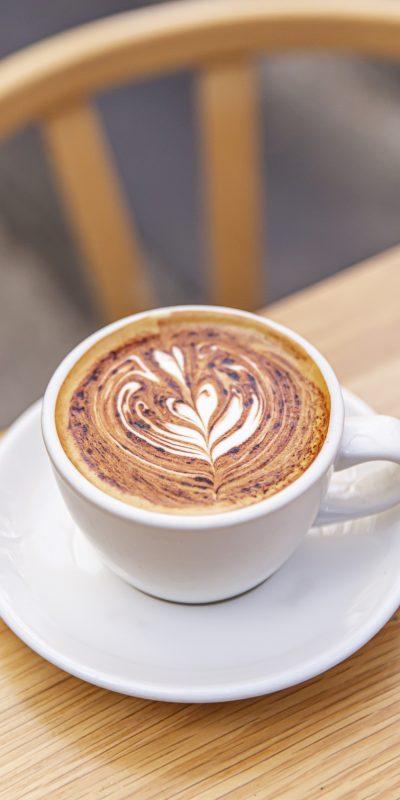 Single O coffee in Pyrmont, Sydney